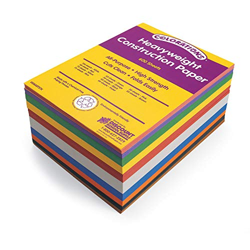 Price comparison product image Colorations SMARTSTK Colorations Construction Paper Smart Pack (Pack of 600)