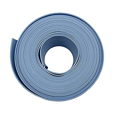"Puri Tech 1.5"" x 50' Durable Pool Filter Backwash or Draining Hose"