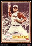 1962 Topps # 233 1961 World Series - Game #2 - Jay Ties It Up Joey Jay New York / Cincinnati Yankees / Reds (Baseball Card) Dean's Cards 2 - GOOD Yankees / Reds