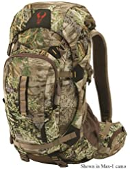 Badlands Point Hunting Backpack – Camouflage Daypack Carry Bow and Rifle – Hydration Compatible