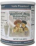 : Soda Fountain Soda Fountain Malted Milk Powd
