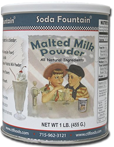 Soda Fountain Soda Fountain Malted Milk Powd (Malt Powder)