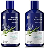 Avalon Organics All Natural Biotin B-Complex Therapy Thickening Shampoo and Conditioner For Hair