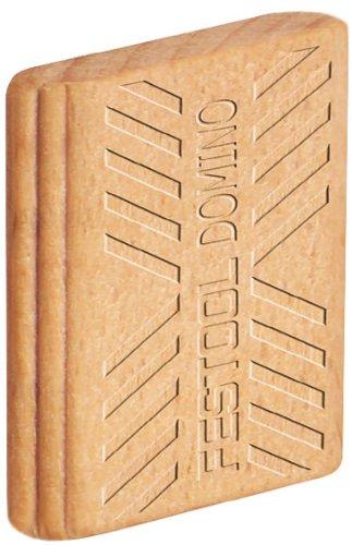 Festool 494942 Domino Tenon, Beech Wood, 10 X 24 X 50mm, 85-pack