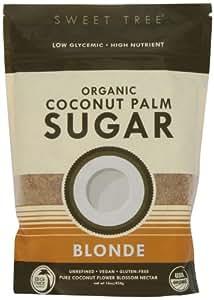 Big Tree Farms Sweet Tree Organic Coconut Palm Sugar Blonde -- 16 oz (pack of 2).