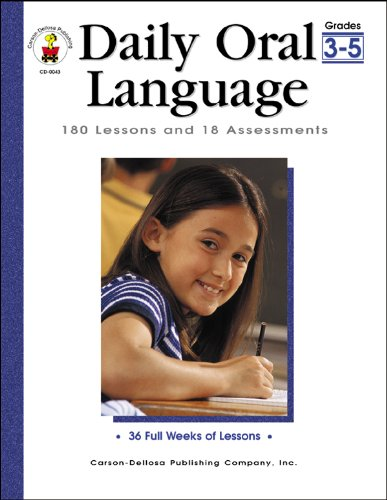 Daily Oral Language, Grades 3 - 5: 180 Lessons and 18 Assessments (Daily Series) ()