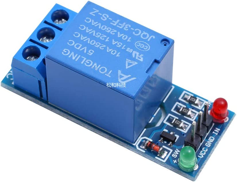 Beaums 5V 1//2//4//8//16 Channel Relay Board Optocoupler Module Relay Module Optocoupler LED Compatible with Arduino PiC ARM AVR