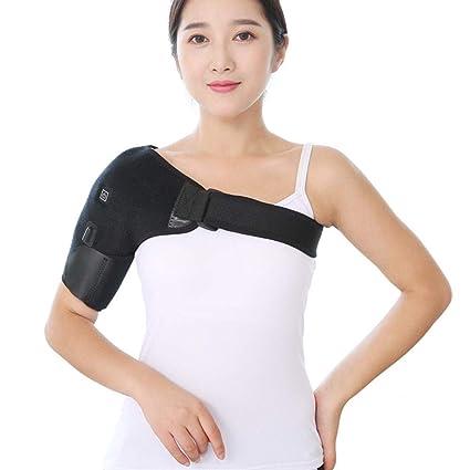 Almohadilla Térmica USB para Cervical de Cuello y Hombros Ortesis con Calefacción para Cuello y Hombros