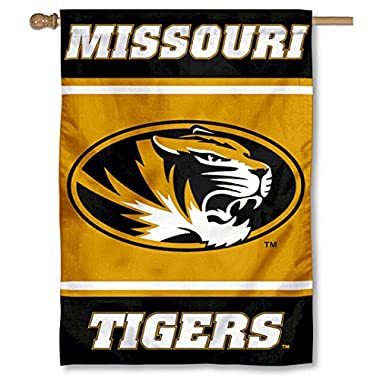 Mizzou Tigers 28  x 40  Two Sided House Flag