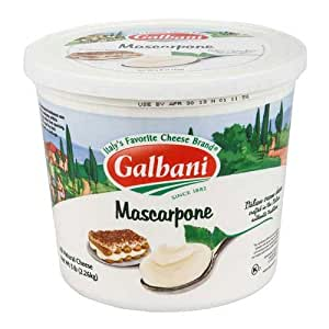 Galbani Mascarpone Cheese, 5 Pound - 4 per case.