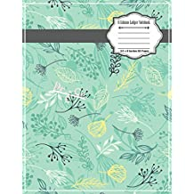 6 Column Ledger Notebook: Accounting Ledger Notebook Record Keeping Book Financial Ledgers Paper 8.5 x 11 Inches 110 Pages