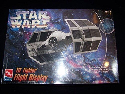 #8275 AMT/ertl Star Wars TIE Fighter Flight Display Plastic Model Kit,Needs Assembly by AMT Ertl