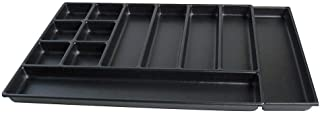 "product image for Kennedy Manufacturing 81934 2"" 12-Compartment Divider for 34"" W Kennedy Roller Cabinets & Chests, Industrial Black"