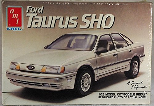 - AMT #6265 1989 Ford Taurus SHO 1/25 Scale Plastic Model Kit NEEDS ASSEMBLY