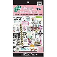 Me & My Big Ideas Happy Memory Keeping Planner Stickers, Everyday Memories (Pink)