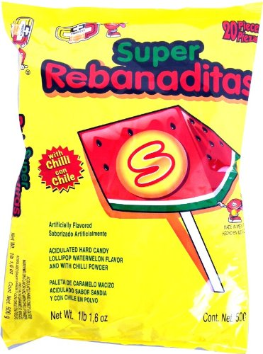 Super Rebanadita Sandia - Rebanaditas with Chilli Powder -