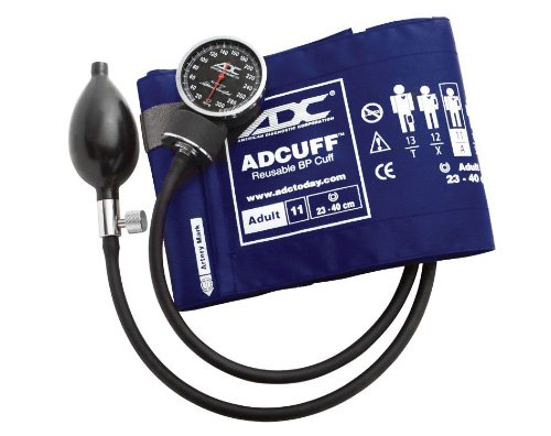 ADC Diagnostix 720 Pocket Aneroid Sphygmomanometer with A...