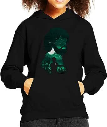 Tyrion Kings Landing Silhouette Game of Thrones Kid's Hooded Sweatshirt