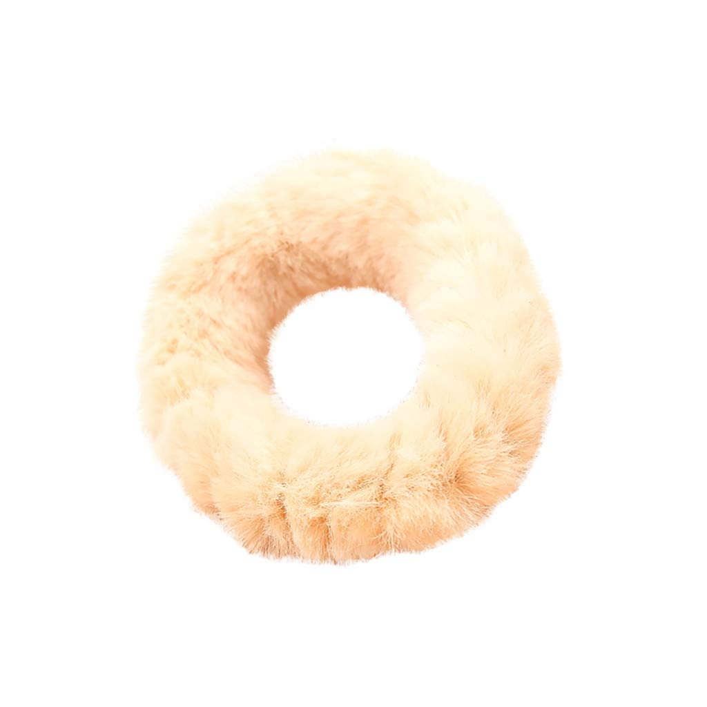 Girls Band Elastic Mother /& Kids Hair Accessories Fur Pompoms Girls Clothing