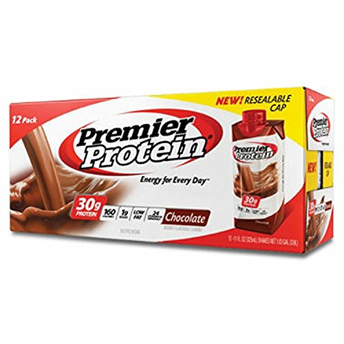 Premier Protein Chocolate Shake, 12 ct./11 oz. (pack of 6) by Premier