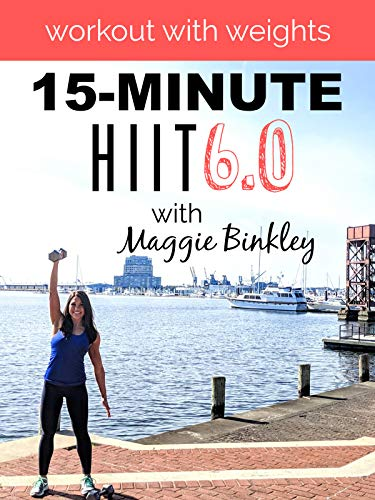 15-Minute HIIT 6.0 Workout (with weights)