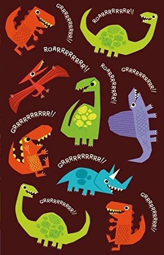 Peaceable Kingdom Glow in The Dark Dinosaur Stickers Mindware