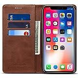 Wallet Case Compatible iPhone XR/iPhone 10R, Wallet Case Premium PU Leather Flip Cover Folio Case [Kickstand Feature]...