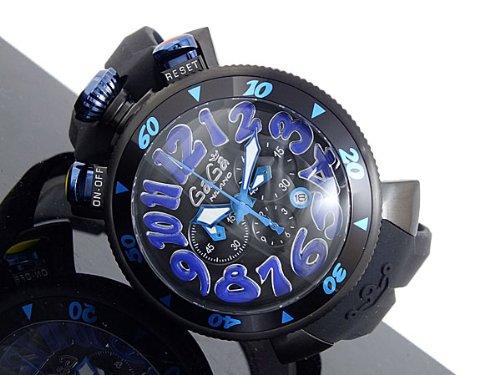 quality design 4c87f 90086 Amazon | GAGA MILANO 6054.1CHRONO 48MMガガミラノ 腕時計 ...