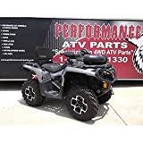 High Lifter 2013-2014 Can-Am Outlander 500 XT Performance ATV Complete Snorkel Kit by SNORKL-C1OL-P