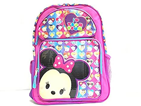 Amazon.com | Licensed Disney I Love Tsum Tsum Large Backpack ...