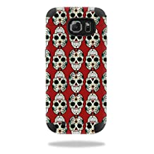 MightySkins Protective Vinyl Skin Decal for Mophie Juice Pack Samsung Galaxy S6 wrap cover sticker skins Sugar Skull