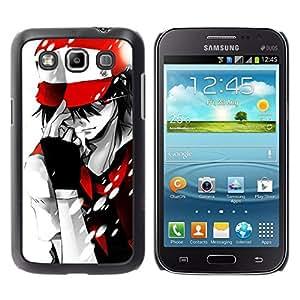 Caucho caso de Shell duro de la cubierta de accesorios de protección BY RAYDREAMMM - Samsung Galaxy Win I8550 - P0kemon individuo