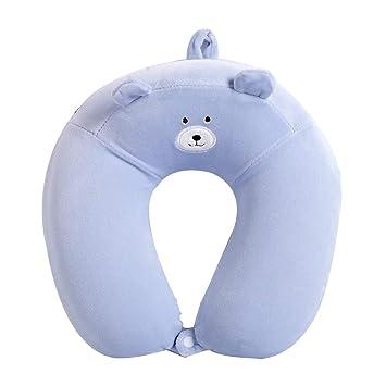 Amazon.com: PIWYHOW Almohada cervical para dormir, espuma ...
