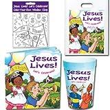 12 Jesus Lives! Let's Celebrate! Easter Party Packs