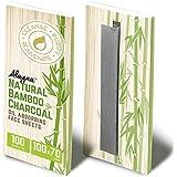 (3 PK) Oil Blotting Sheets- Natural Bamboo Charcoal Oil Absorbing Tissues- 300 Pcs Organic Blotting Paper- Beauty…