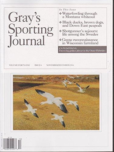 (Gray's Sporting Journal Magazine November/December 2016)