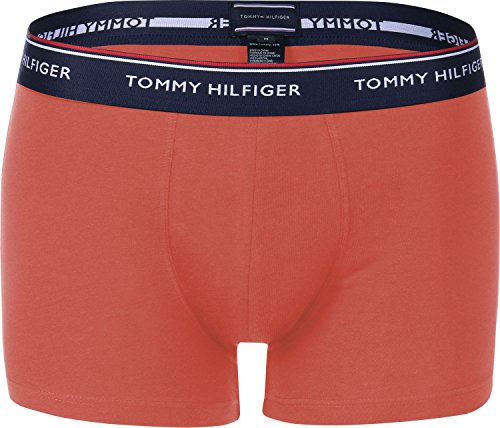 Boxers Orange Hilfiger 3p Blue Tommy SxnIE70I ...