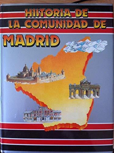 Historia De La Comunidad De Madrid Volumes 1 and 2 in HARDCOVER