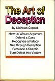 The Art of Deception, Nicholas Capaldi, 0878690042