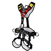 YaeCCC Climbing Harness Safe Seat Belt Fire Rescue High Altitude School Assignment Caving Rock Climbing Rappelling Equipment Body Guard Protect