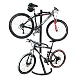 RAD Cycle Products Gravity Bike Stand/Bicycle Rack for Storage or Display, Holds Two Bicycles