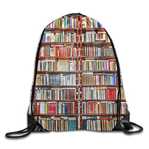 Leisure Sports Backpack Drawstring Shoulder Bag Bundle Pocket Awesome Neat Bookshelf Perfect Gift Idea For -