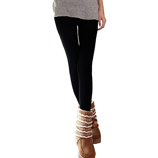 351 opinioni per Set 5 leggings donna effetto termico interno felpato elasticizzato collant
