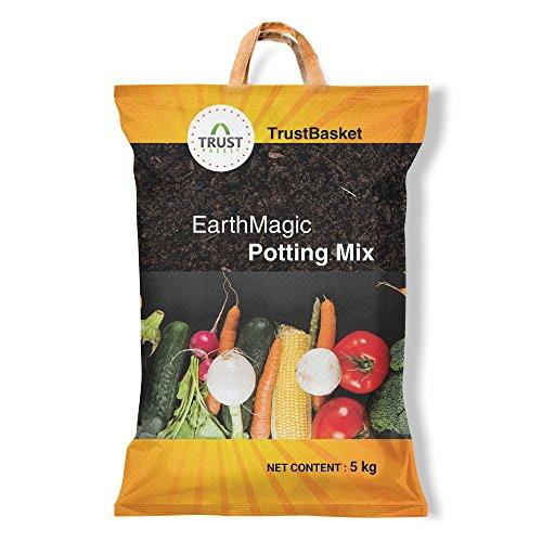 TrustBasket premium enriched organic earth magic potting so