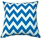 Zig Zag Blue and White Sofa Bed Throw - Best Reviews Guide