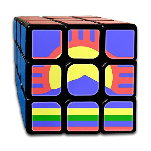 ColorSee Sunrise New Mexico Flag Rubik's Cube 3x3 Brain Training Game Magic Cube For Kids Or Adults With New Durable - Online Sun Edmonton