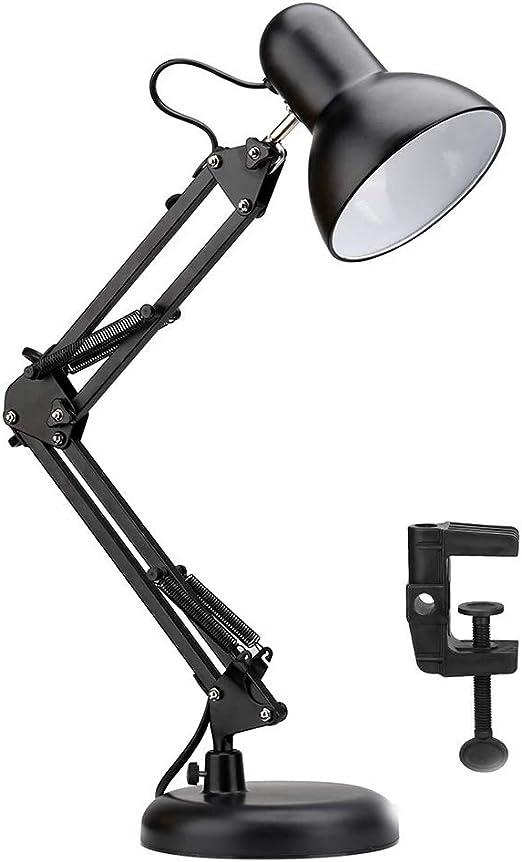 Lámpara de Mesa LED, lámpara de Mesa E27 Soporte de lámpara de ...