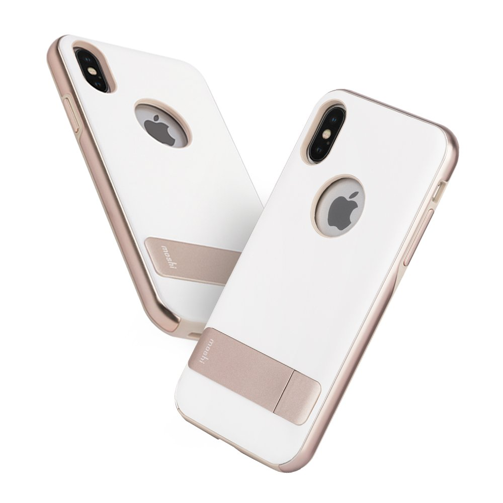 new concept aeeb3 00a29 Moshi Kameleon for iPhone Xs/iPhone X (Ivory White)