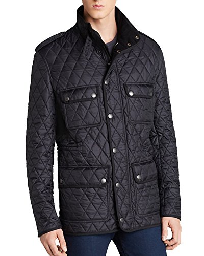 Burberry Brit Russell Diamond Quilted Jacket (XXL, - Burberry For Men