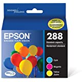 Epson T288520-S DURABrite Ultra Color Combo Pack Standard Capacity Cartridge Ink
